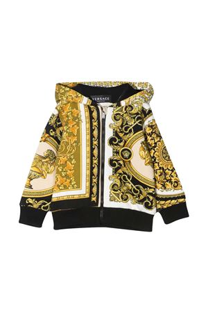 Young Versace baroque print hoodie YOUNG VERSACE | -108764232 | 10003351A002655W060