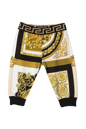 Pantaloni joggers con stampa barocca Young Versace YOUNG VERSACE | 9 | 10003361A002655W060