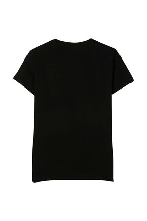 Black t-shirt with golden print Young Versace YOUNG VERSACE | 8 | 10003661A003102B130