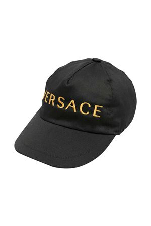 Cappello nero Young Versace YOUNG VERSACE | 75988881 | 10003911A003502B130