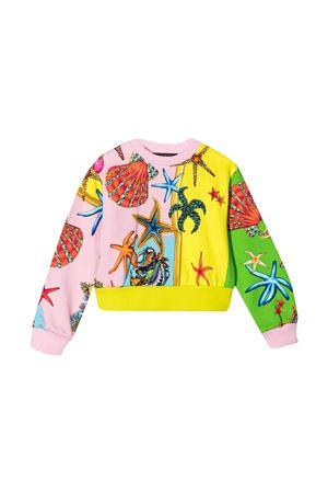Young Versace color-block design sweatshirt YOUNG VERSACE | -108764232 | 10004911A004215Y010