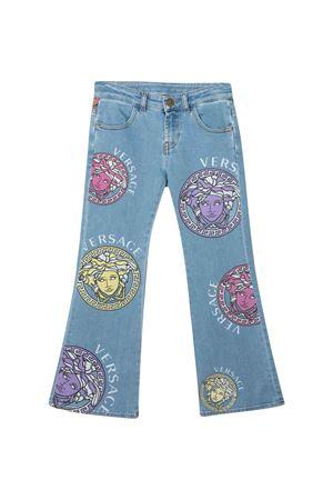 Jeans svasati Versace Kids YOUNG VERSACE | 9 | 10004941A004112D100