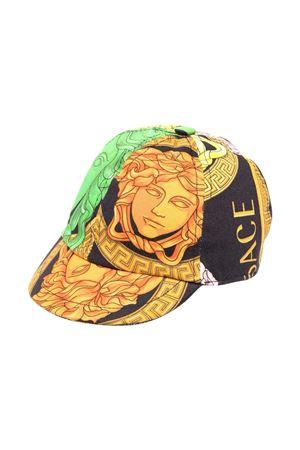 Young Versace print baseball cap YOUNG VERSACE | 75988881 | 10005101A004385B020
