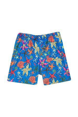 Young Versace print swim shorts YOUNG VERSACE | 85 | 10005161A004425U020