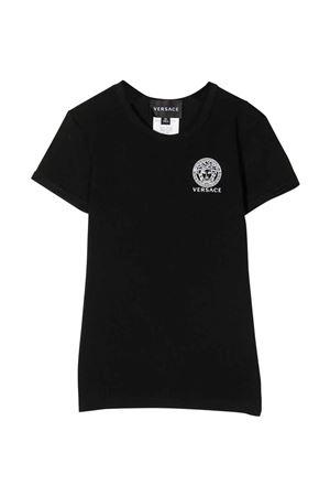 Set t-shirts unisex nera e bianca YOUNG VERSACE | 8 | YD000368AC00058A225E