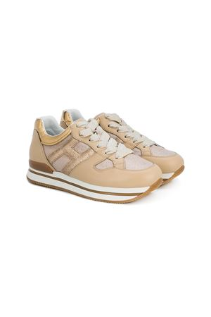 GOLD TEEN SHOES HOGAND KIDS HOGAN KIDS | 12 | HXR2220T548IBV0PA0T