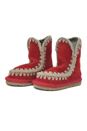 ESKIMO KID SUEDE BOOTS RED Mou | 12 | SUMMERESKIMOSUEDETRUERED