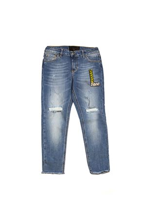 Jeans with application  for woman ONE | 24 | PJ309LAV04