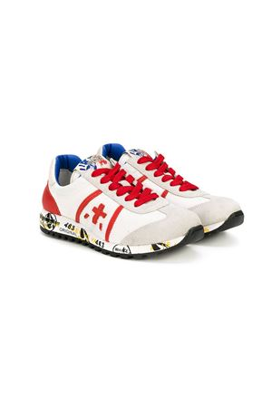 White and red Sneakers  Premiata | 12 | LUCY0768BIANCO/ROSSO