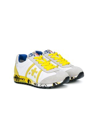 Yellow and white sneakers  model lucy Premiata | 12 | LUCY0779BIANCO/GIALLO