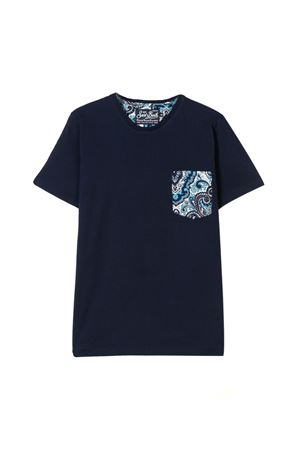 T-shirt blu saint barth Bambino SAINT BARTH | 8 | KEAGPOA13