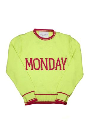 GIRL YELLOW SHIRT MONDAY ALBERTA FERRETTI KIDS  Alberta ferretti kids | 7 | 019293020
