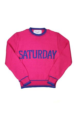 GIRL FUCHSIA SATURDAY SWEATER ALBERTA FERRETTI KIDS Alberta ferretti kids | 7 | 019293044