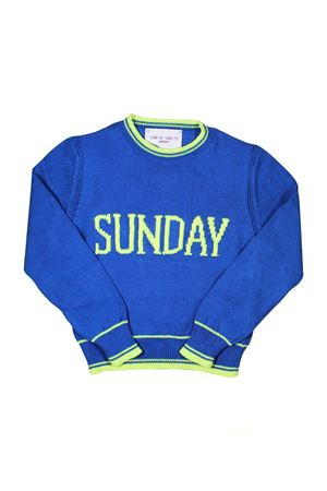 GIRL ROYAL BLUE SWEATER SUNDAY ALBERTA FERRETTI KIDS Alberta ferretti kids | 7 | 019293061
