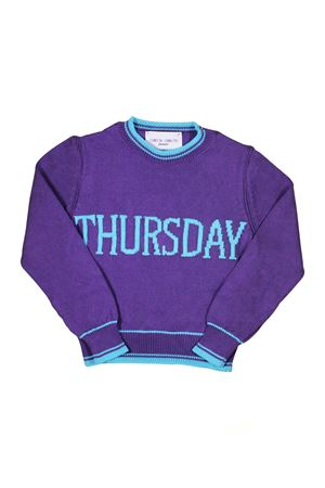 GIRL PURPLE SWEATER THURSDAY ALBERTA FERRETTI KIDS Alberta ferretti kids | 7 | 019293070