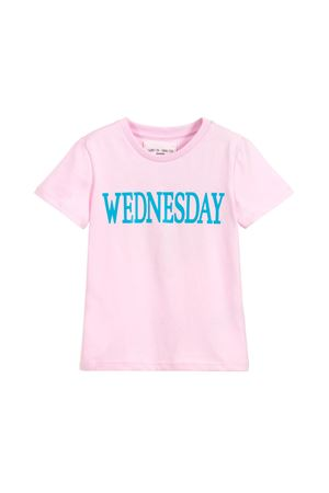T-SHIRT LIGHT PINK WEDNESDAY GIRL ALBERTA FERRETTI KIDS Alberta ferretti kids | 8 | 019295042