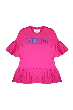 FUCSIA DRESS ALBERTA FERRETTI KIDS TEEN Alberta ferretti kids | 11 | 019298044T