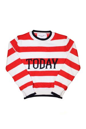 GIRL STRIPED SWEATER TODAY ALBERTA FERRETTI KIDS  Alberta ferretti kids | 7 | 019302040