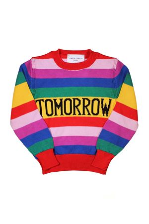TODAY MULTICOLOR GIRL SWEATER ALBERTA FERRETTI KIDS Alberta ferretti kids | 7 | 019307200