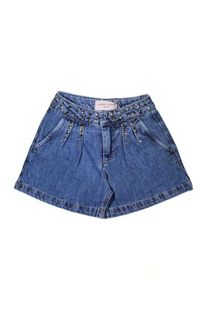 GIRL BERMUDA IN DARK DENIM ALBERTA FERRETTI KIDS TEEN Alberta ferretti kids | 5 | 019693126T