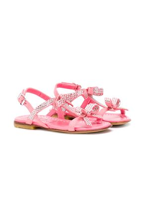 PINK SANDALS MONTELPARE KIDS TEEN  andrea montelpare | 12 | 60137T1723