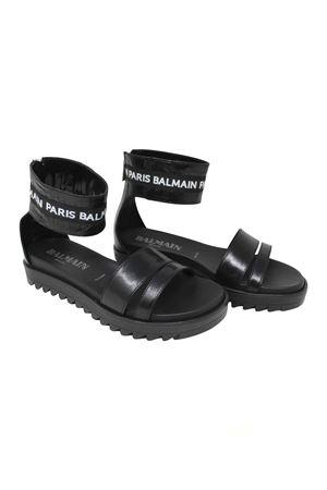 BLACK SANDALS BALMAIN KIDS BALMAIN KIDS | 12 | 6K0026KX350930