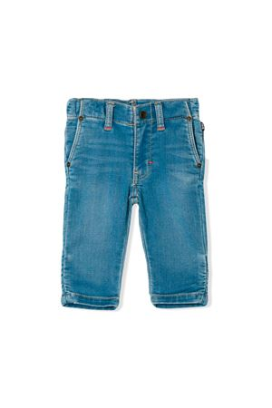 DENIM BLUE NEWBORN BOSS KIDS JEANS  BOSS KIDS | 9 | J04330Z25
