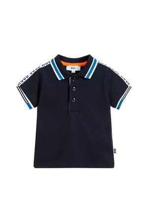 BLUE POLO NEWBORN BOSS KIDS BOSS KIDS | 2 | J05693849