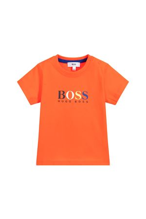 BOSS KIDS NEWBORN ORANGE T-SHIRT  BOSS KIDS | 8 | J05717982