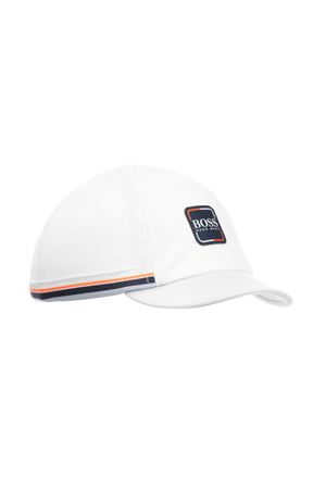 BOSS KIDS WHITE BABY HAT  BOSS KIDS | 25189572 | J91089771