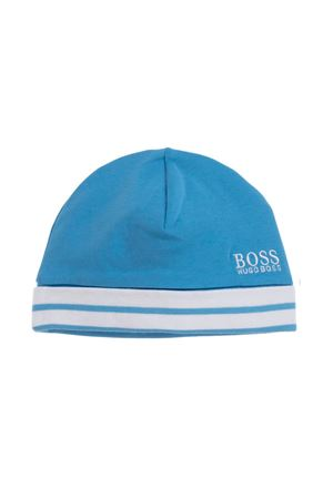 BOSS KIDS BLUE BABY HAT  BOSS KIDS | 75988881 | J9109077K