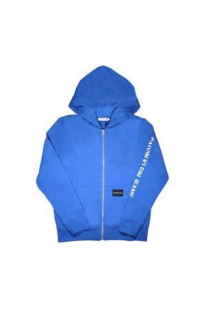 BLUE CALVIN KLEIN KIDS SWEATSHIRT  CALVIN KLEIN KIDS | -108764232 | IB0IB00013401