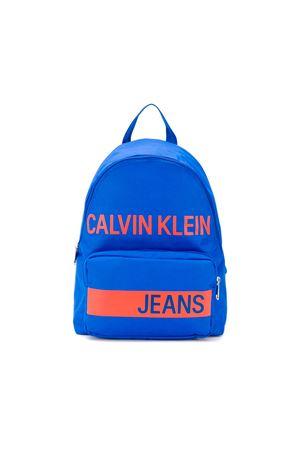 BLUE BACKPACK CALVIN KLEIN KIDS CALVIN KLEIN KIDS | 279895521 | IU0IU00001401
