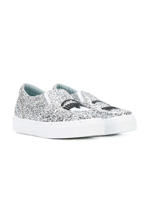 SLIP-ON LITTLE GIRL FERRAGNI KIDS  CHIARA FERRAGNI KIDS | 12 | CFB002S19ARGENTO