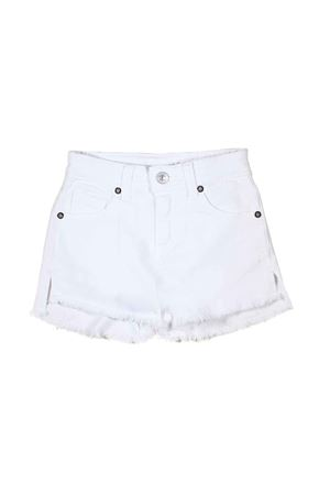 WHITE SHORTS FOR LITTLE GIRLS FERRAGNI KIDS CHIARA FERRAGNI KIDS | 30 | CFKS002BIANCO