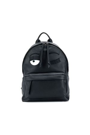 BLACK BACKPACK CHIARA FERRAGNI KIDS CHIARA FERRAGNI KIDS | 279895521 | CFZ049NERO