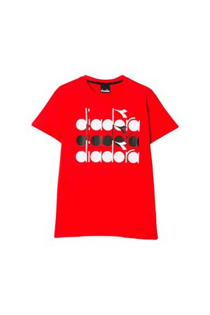 RED T-SHIRT DIADORA KIDS TEEN  DIADORA JUNIOR | 8 | 019253T040