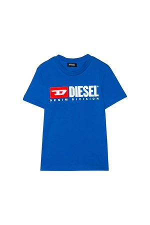 ROYAL BLUE T-SHIRT DIESEL KIDS   DIESEL KIDS   8   00J47V00YI9K89E