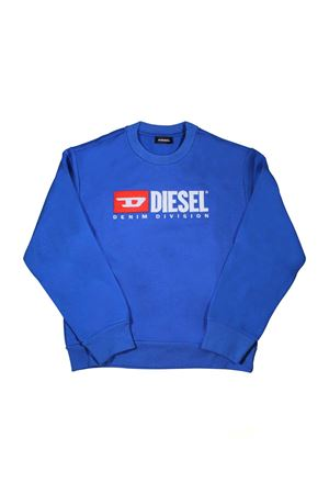 ROYAL BLUE SWEATSHIRT DIESEL KIDS  DIESEL KIDS | -108764232 | 00J48E0IAJHK89E