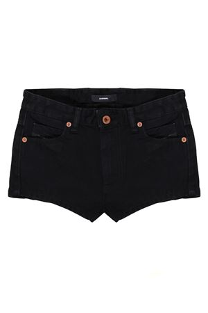 SHORTS NERI IN DENIM DIESEL KIDS TEEN DIESEL KIDS | 30 | 00J4BEKXB0UK02T