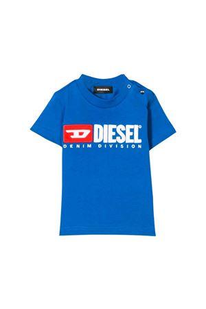 BLUE DIESEL KIDS T-SHIRT  DIESEL KIDS   8   00K1YW00YI9K89E