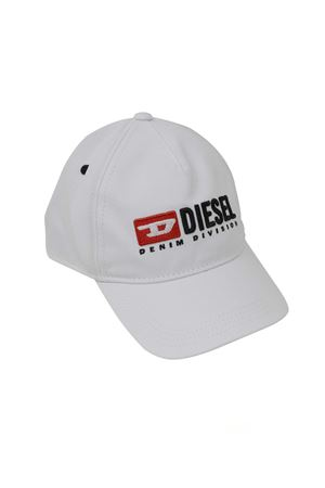WHITE HAT DIESEL KIDS WITH VISOR DIESEL KIDS | 75988881 | 00K1ZGKXA77K100