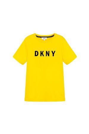 YELLOW GIRL T-SHIRT DKNY KIDS  DKNY KIDS | 8 | D25C30535T