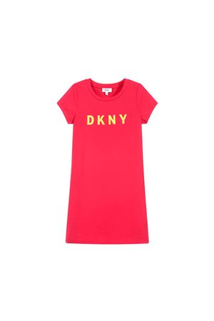 PINK GIRL DRESS DKNY KIDS  DKNY KIDS | 11 | D32696482T