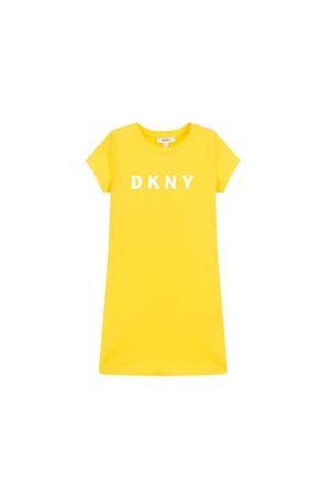 DKNY KIDS TEEN YELLOW DRESS  DKNY KIDS | 11 | D32696535T