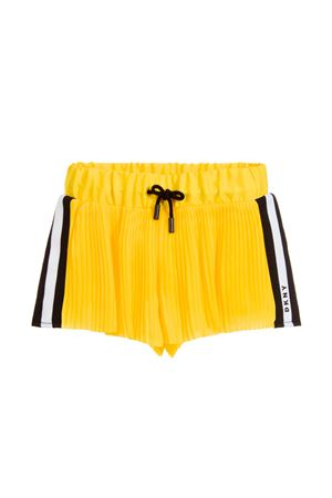 YELLOW SHORTS DKNY KIDS FOR GIRL DKNY KIDS | 30 | D34948535