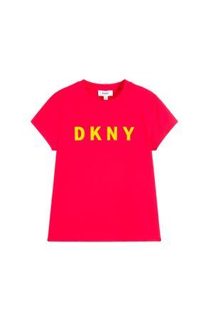 PINK GIRL T-SHIRT DKNY KIDS  DKNY KIDS | 8 | D35N99482