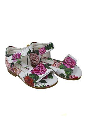 DOLCE E GABBANA KIDS FLOWER MIX TASSEL SANDALS  Dolce & Gabbana kids | 5032315 | D20024A6F76HAX46