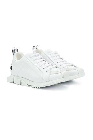 WHITE DOLCE E GABBANA KIDS TEEN SNEAKERS  Dolce & Gabbana kids | 12 | DA0711AK635T89642