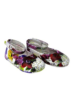 DOLCE E GABBANA KIDS FLOWER MIX BALLETS SHOES Dolce & Gabbana kids | -216251476 | DK0065AI149HAW86